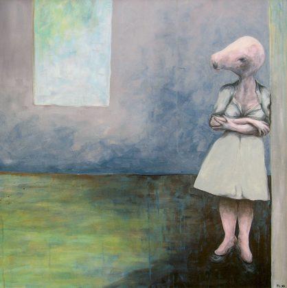 Artistes Occitanie Pierre Lebas, Natacha restait enfermee toute la journee, 2012