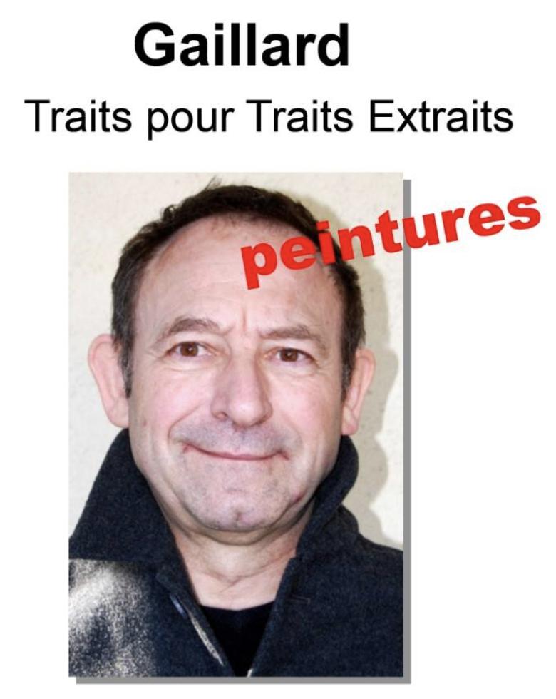 Artistes Occitanie-Philippe Gaillard-affiche