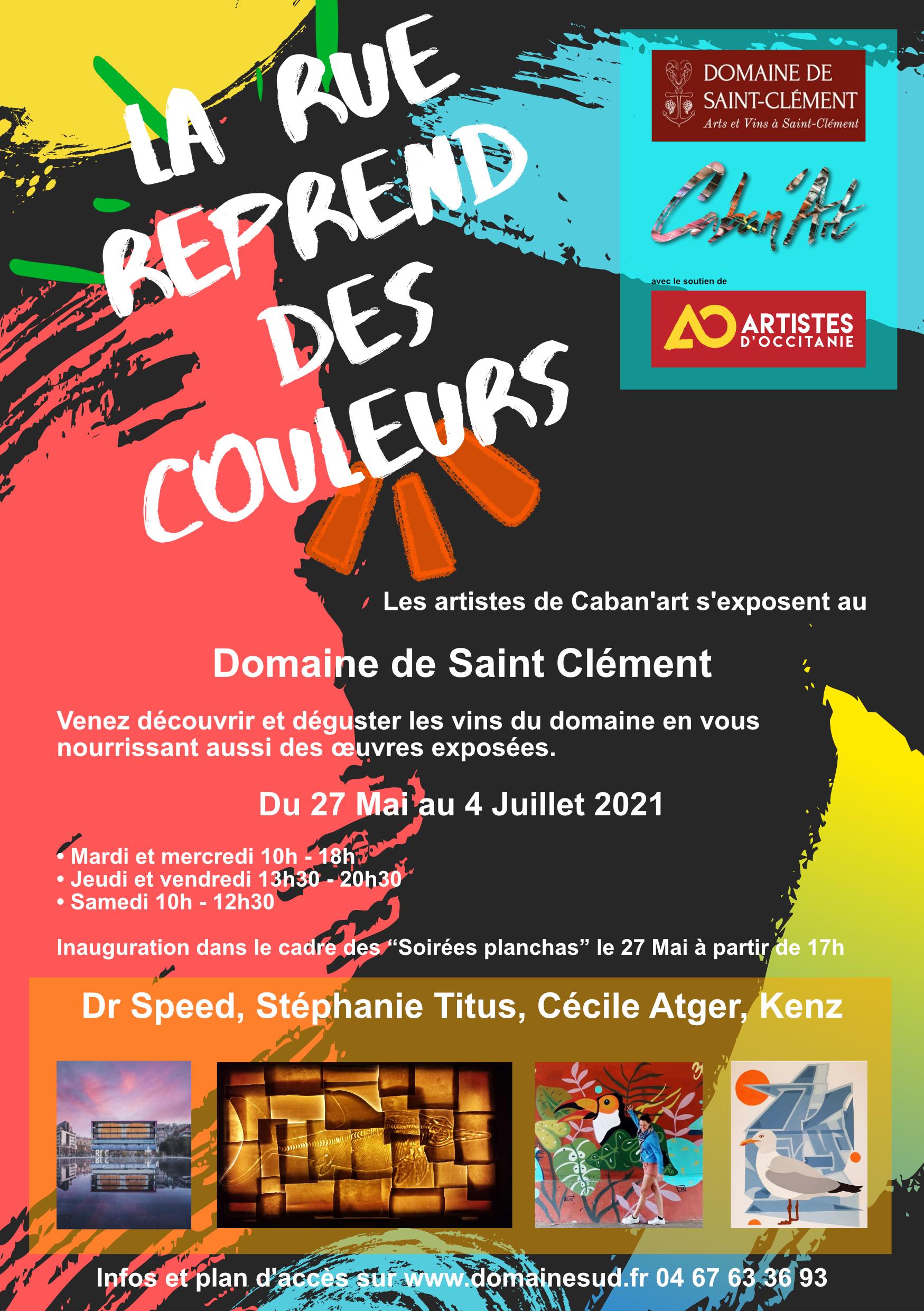 Expo Caban'Art : La rue reprend des couleurs